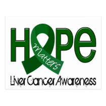 Hope Matters 2 Liver Cancer Postcard