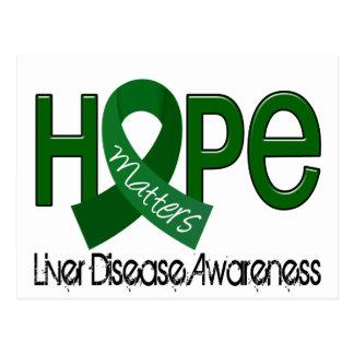 Hope Matters 2 Liver Disease Postcard