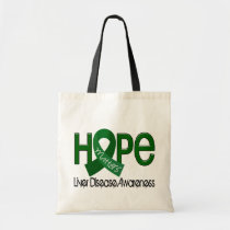 Hope Matters 2 Liver Disease Tote Bag