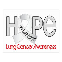 Hope Matters 2 Lung Cancer Postcard