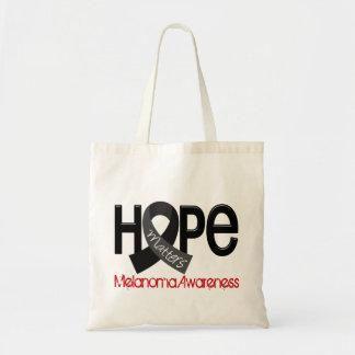 Hope Matters 2 Melanoma Budget Tote Bag
