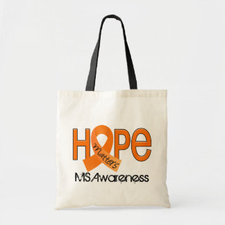 Hope Matters 2 MS Multiple Sclerosis Canvas Bags