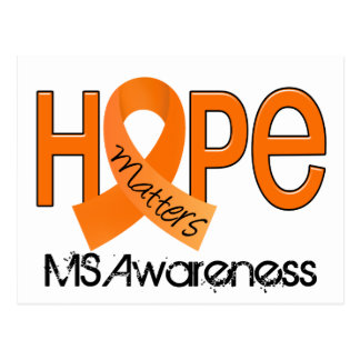 Hope Matters 2 MS Multiple Sclerosis Postcard