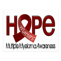 Hope Matters 2 Multiple Myeloma Postcard