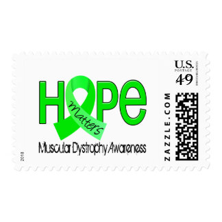 Hope Matters 2 Muscular Dystrophy Postage Stamp