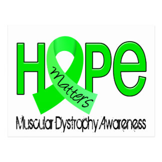 Hope Matters 2 Muscular Dystrophy Postcard