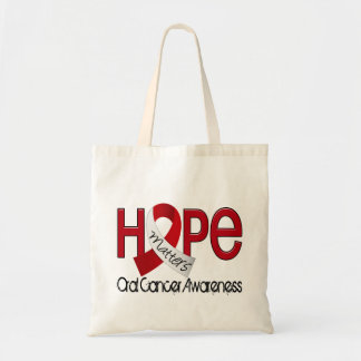 Hope Matters 2 Oral Cancer Tote Bag