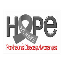 Hope Matters 2 Parkinson's Disease Postcard