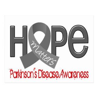 Hope Matters 2 Parkinson's Disease Postcard