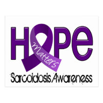 Hope Matters 2 Sarcoidosis Postcard
