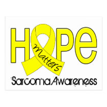 Hope Matters 2 Sarcoma Postcard
