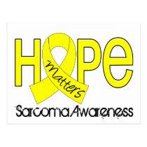 Hope Matters 2 Sarcoma Postcard