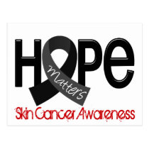 Hope Matters 2 Skin Cancer Postcard