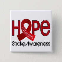 Hope Matters 2 Stroke Pinback Button