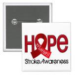 Hope Matters 2 Stroke Pinback Button