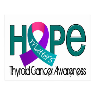 Hope Matters 2 Thyroid Cancer Postcard