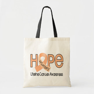 Hope Matters 2 Uterine Cancer Tote Bag