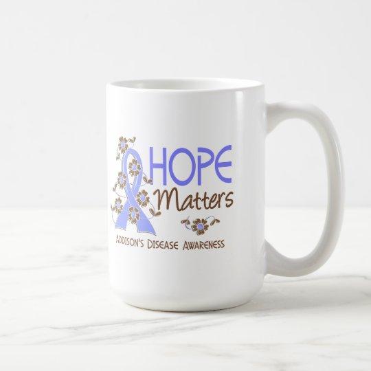 Hope Matters 3 Addison's Disease Coffee Mug