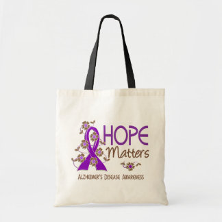 Hope Matters 3 Alzheimer's Disease Tote Bag
