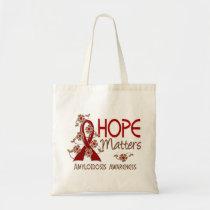 Hope Matters 3 Amyloidosis Tote Bag