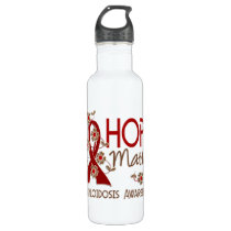 Hope Matters 3 Amyloidosis Water Bottle