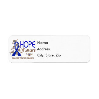 Hope Matters 3 Ankylosing Spondylitis Label