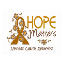 Hope Matters 3 Appendix Cancer Postcard