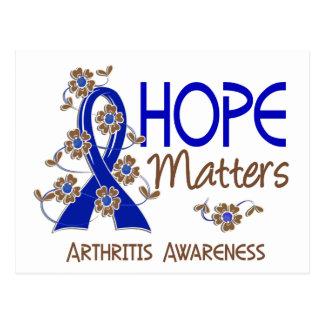 Hope Matters 3 Arthritis Postcard