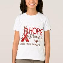 Hope Matters 3 Blood Cancer T-Shirt