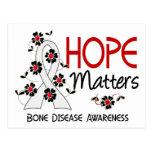 Hope Matters 3 Bone Disease Postcard