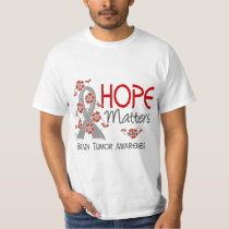 Hope Matters 3 Brain Tumor T-Shirt