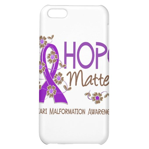 Hope Matters 3 Chiari Malformation Cover For iPhone 5C
