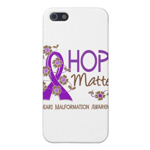Hope Matters 3 Chiari Malformation Covers For iPhone 5