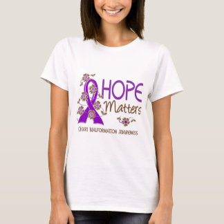 Hope Matters 3 Chiari Malformation T-Shirt