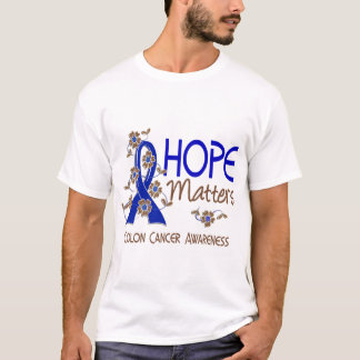 Hope Matters 3 Colon Cancer T-Shirt