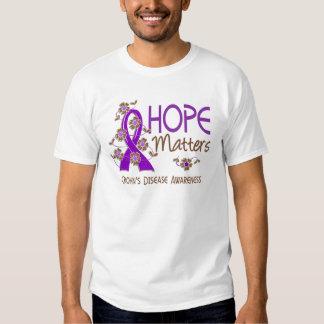 Hope Matters 3 Crohn's Disease T-shirts