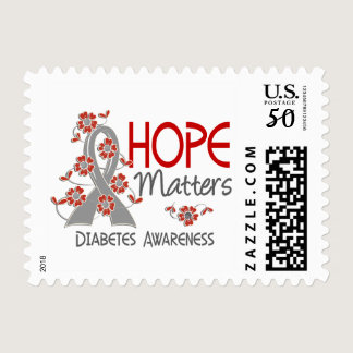 Hope Matters 3 Diabetes Postage