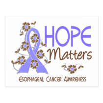Hope Matters 3 Esophageal Cancer Postcard
