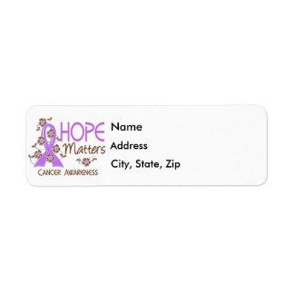 Hope Matters 3 General Cancer Label