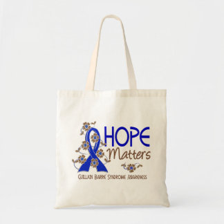Hope Matters 3 Guillain Barre Syndrome Budget Tote Bag