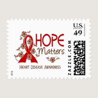 Hope Matters 3 Heart Disease Postage