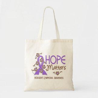 Hope Matters 3 Hodgkin's Lymphoma Tote Bag