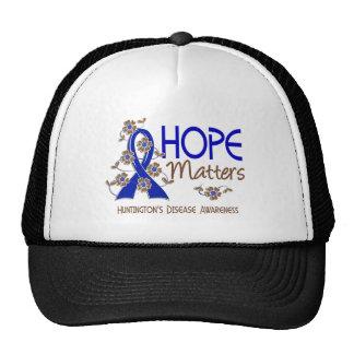Hope Matters 3 Huntington's Disease Trucker Hat