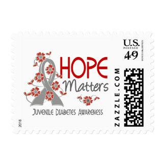 Hope Matters 3 Juvenile Diabetes Stamps