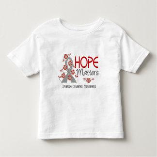 Hope Matters 3 Juvenile Diabetes Tee Shirts