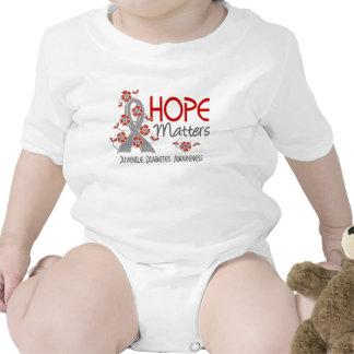 Hope Matters 3 Juvenile Diabetes Tshirts