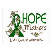Hope Matters 3 Liver Cancer Postcard
