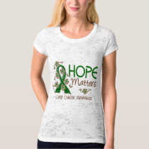 Hope Matters 3 Liver Cancer T-Shirt