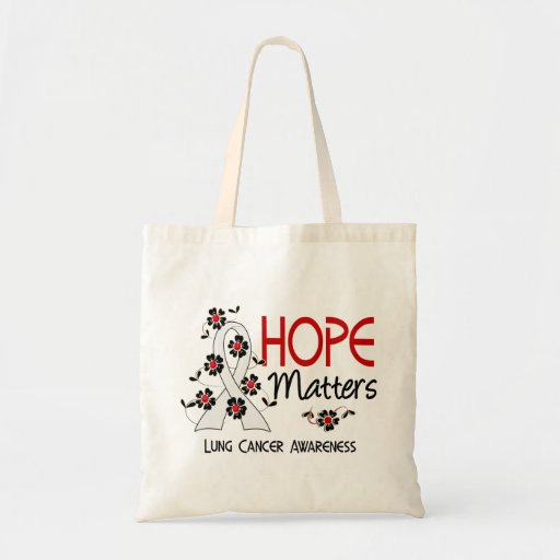 Hope Matters 3 Lung Cancer Bags