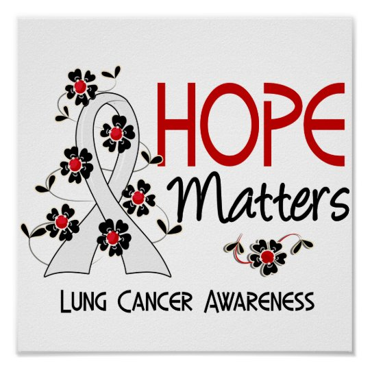 Hope Matters 3 Lung Cancer Poster